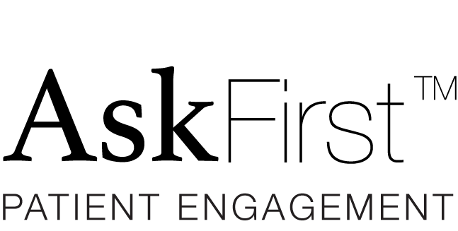 AskFirst™ patient engagement logo