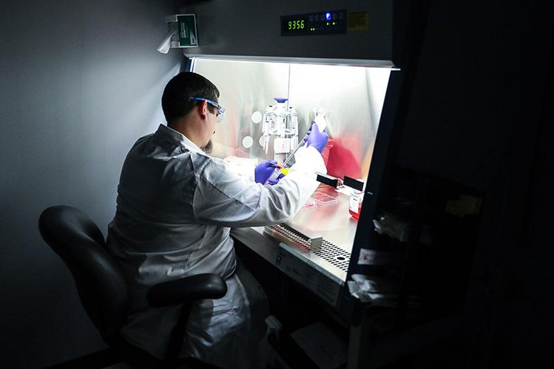 genetic researcher